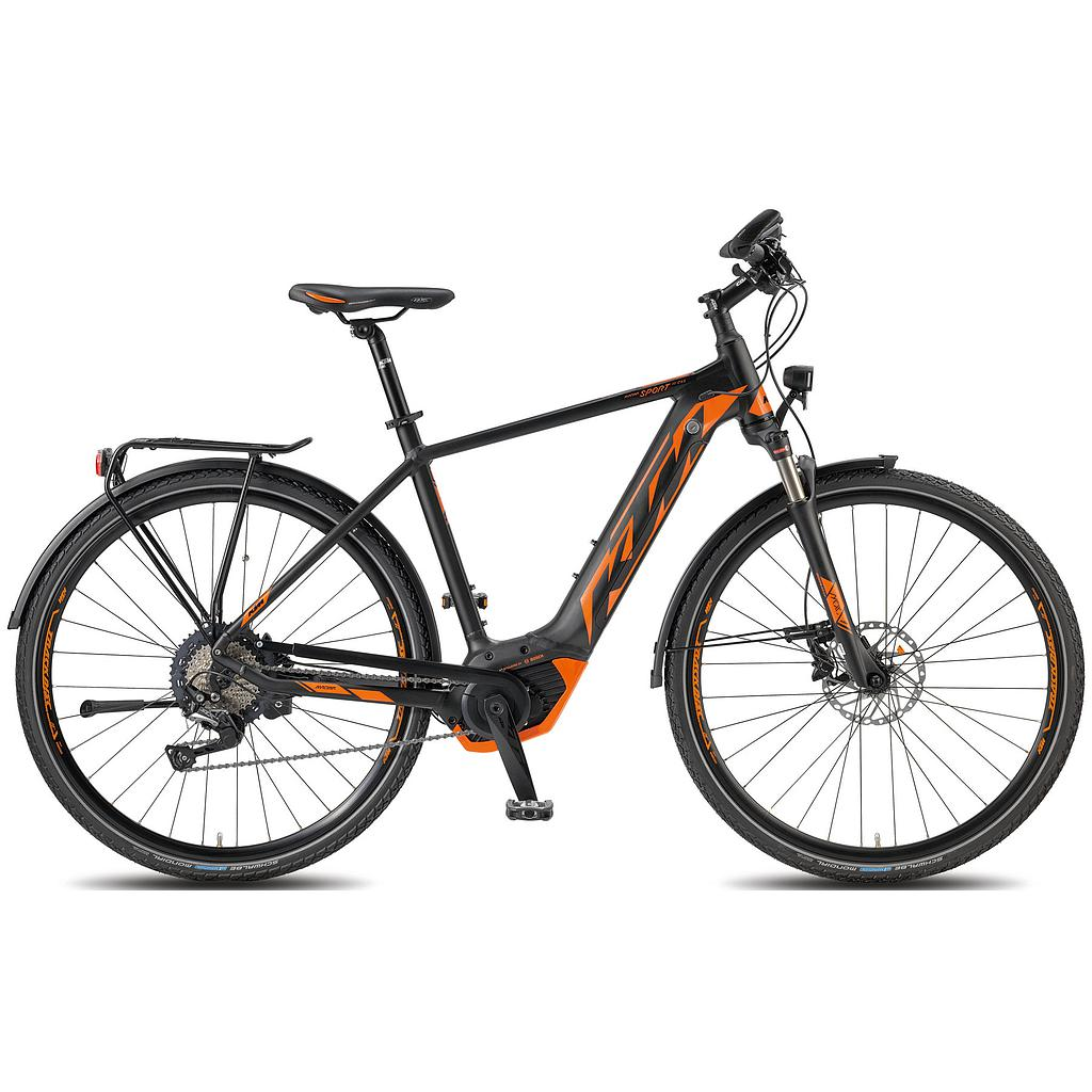 KTM MACINA SPORT 11 CX5 HE 56 matt>black (orange)
