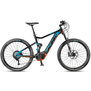 "KTM MACINA LYCAN 272 19""/48/11G m>black/blue(blue+or)"